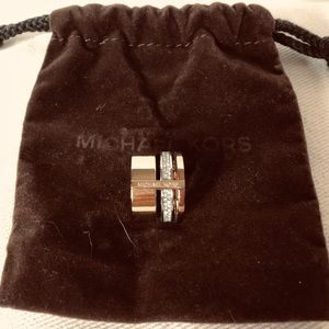 NWOT!! Michael Kors Tri-Tone High Stacked Ring